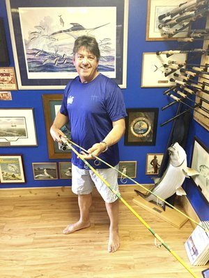 Rod builder also now working as yacht broker